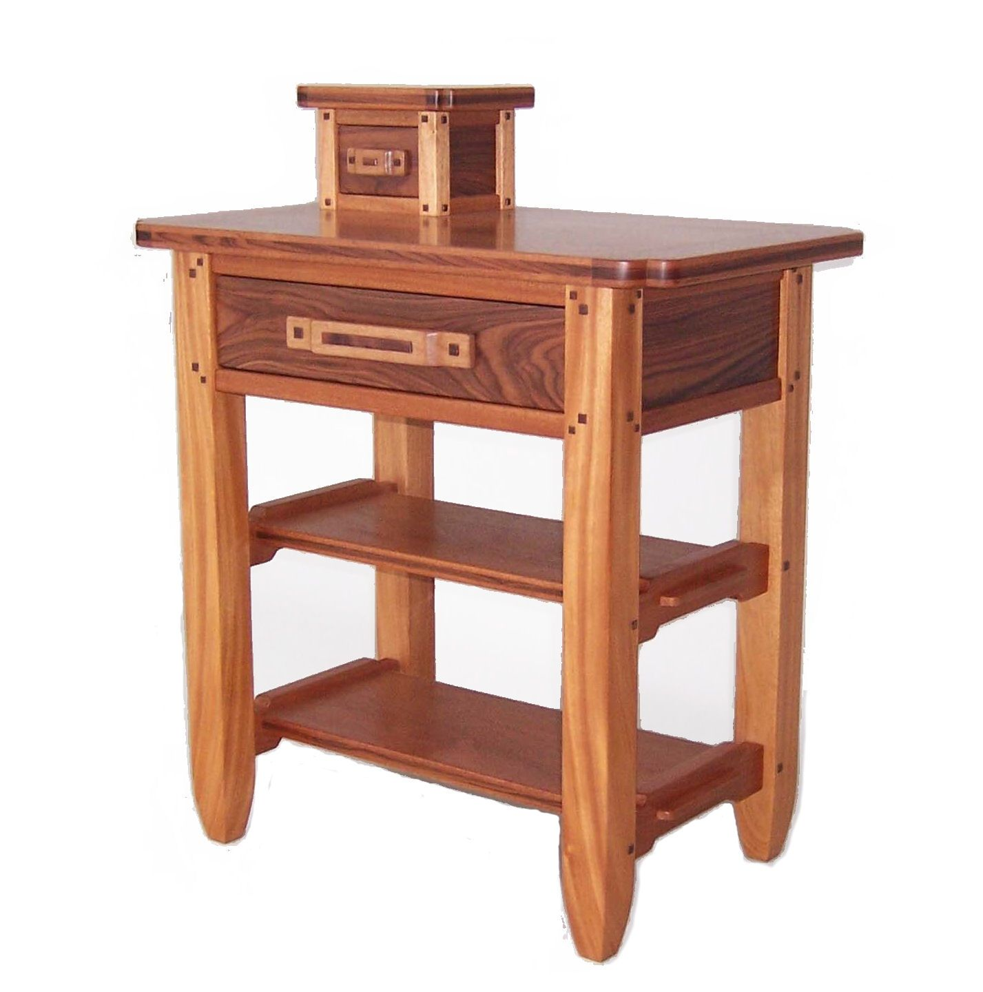 Mortise And Tenon Construction Shelves On Pinterest This End Table Was Custom Made For Truly Nolan In Naples Flor Furniture Bedroom Furniture Design End Tables