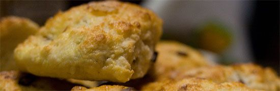 Savoury scones are a great appetizer :)