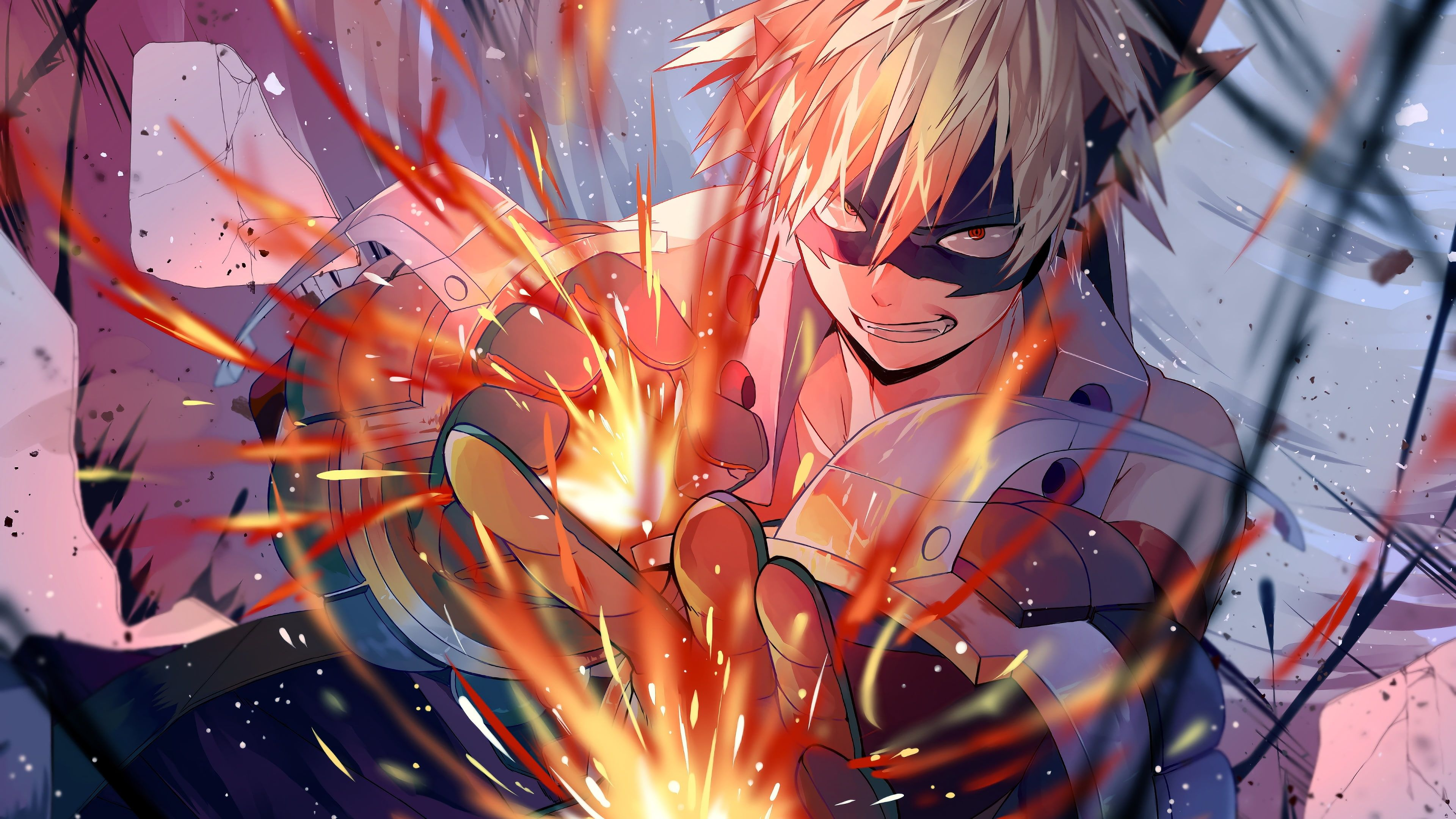My Hero Academia Anime Artist Artwork Digital Art Hd 4k Katsuki Bakugou 4k Wallpaper Hdwallpaper De In 2020 Anime Wallpaper Hero Wallpaper Hd Anime Wallpapers