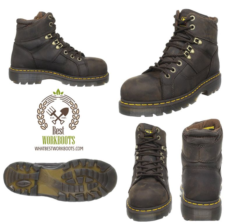 beb54cd3e0a Dr Martens Ironbridge Safety Toe Boot Review - Best Work Boots ...