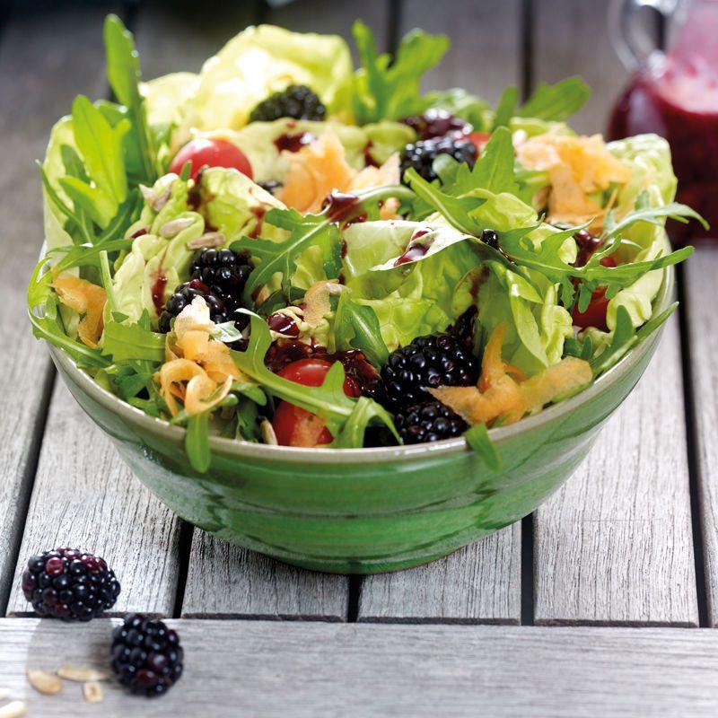 Sommersalat mit Brombeeren | Gesunde Rezepte | WW Schweiz