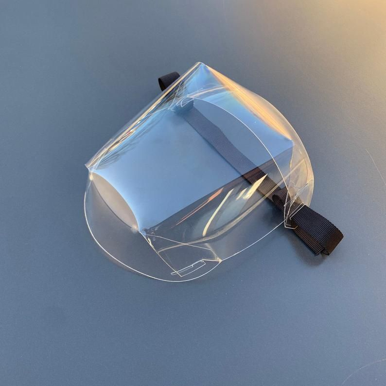Escudo facial t1 etsy in 2020 face shield masks mask