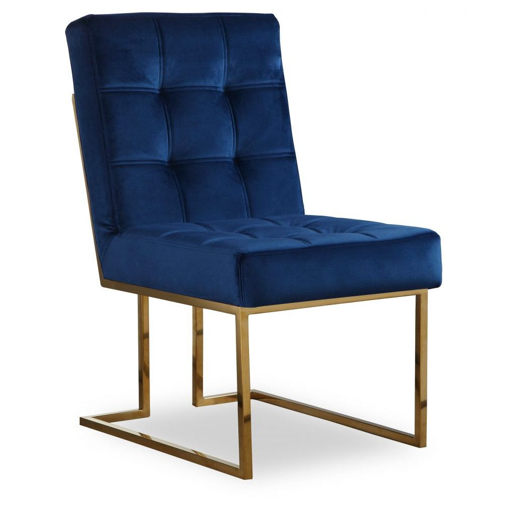Liang & Eimil Warhol Dining Chair in Blue & Gold | Dining ...