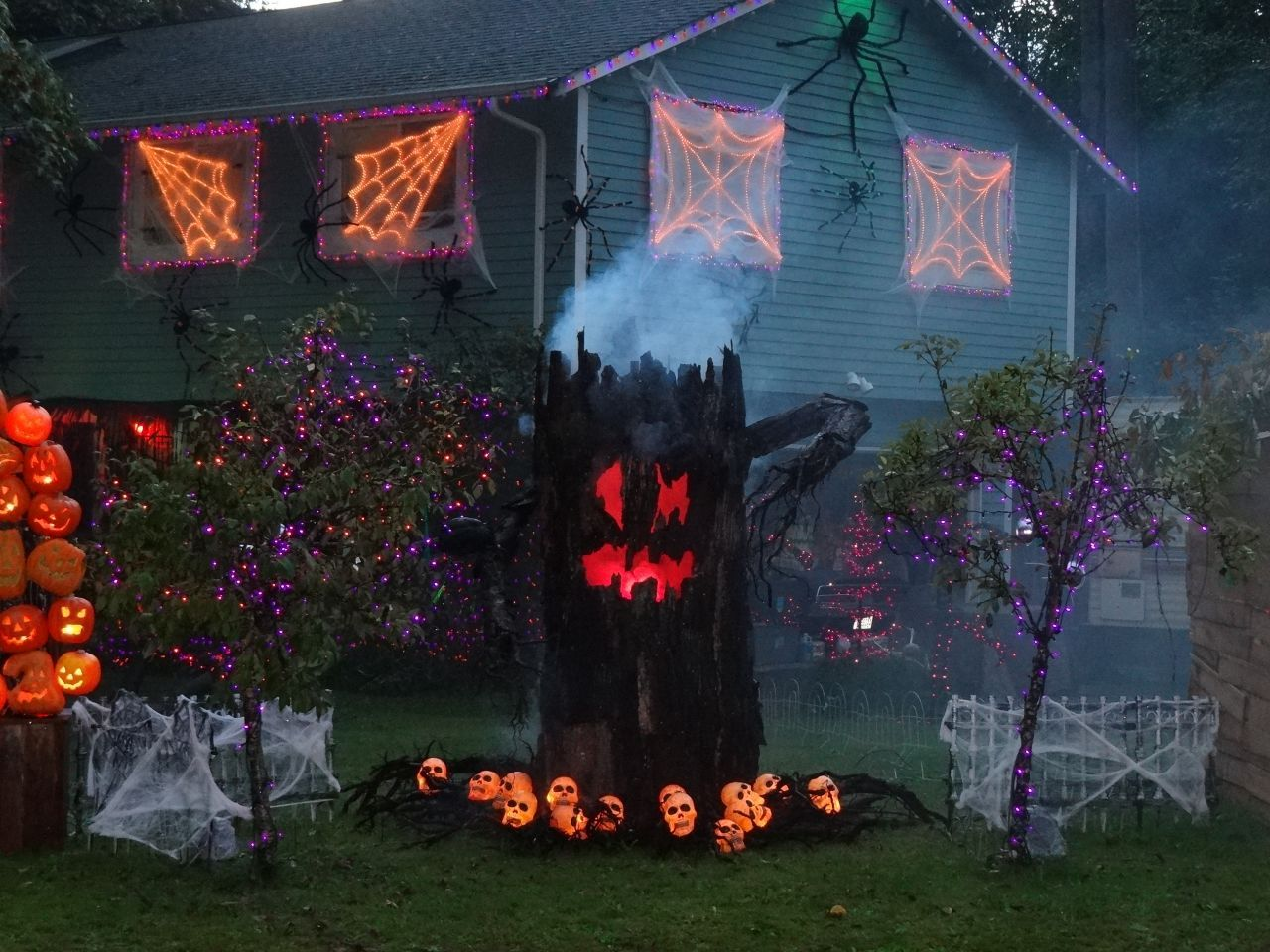 Tags Spooky Halloween Outdoor Decorating Ideas For You Ideas for - Halloween House Decorating Ideas Outside