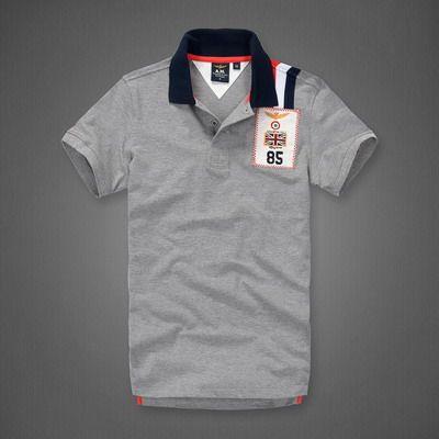 Ralph Lauren Outlet Store Aeronautica Militare England Flag 85 Short Sleeve Polo Shirt Grey Http Www Polo Polo T Shirt Design Polo T Shirts Cheap Polo Shirts