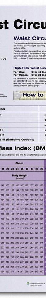 Bmi And Waist Circumference Chart Bmi Chart For Women Fitness
