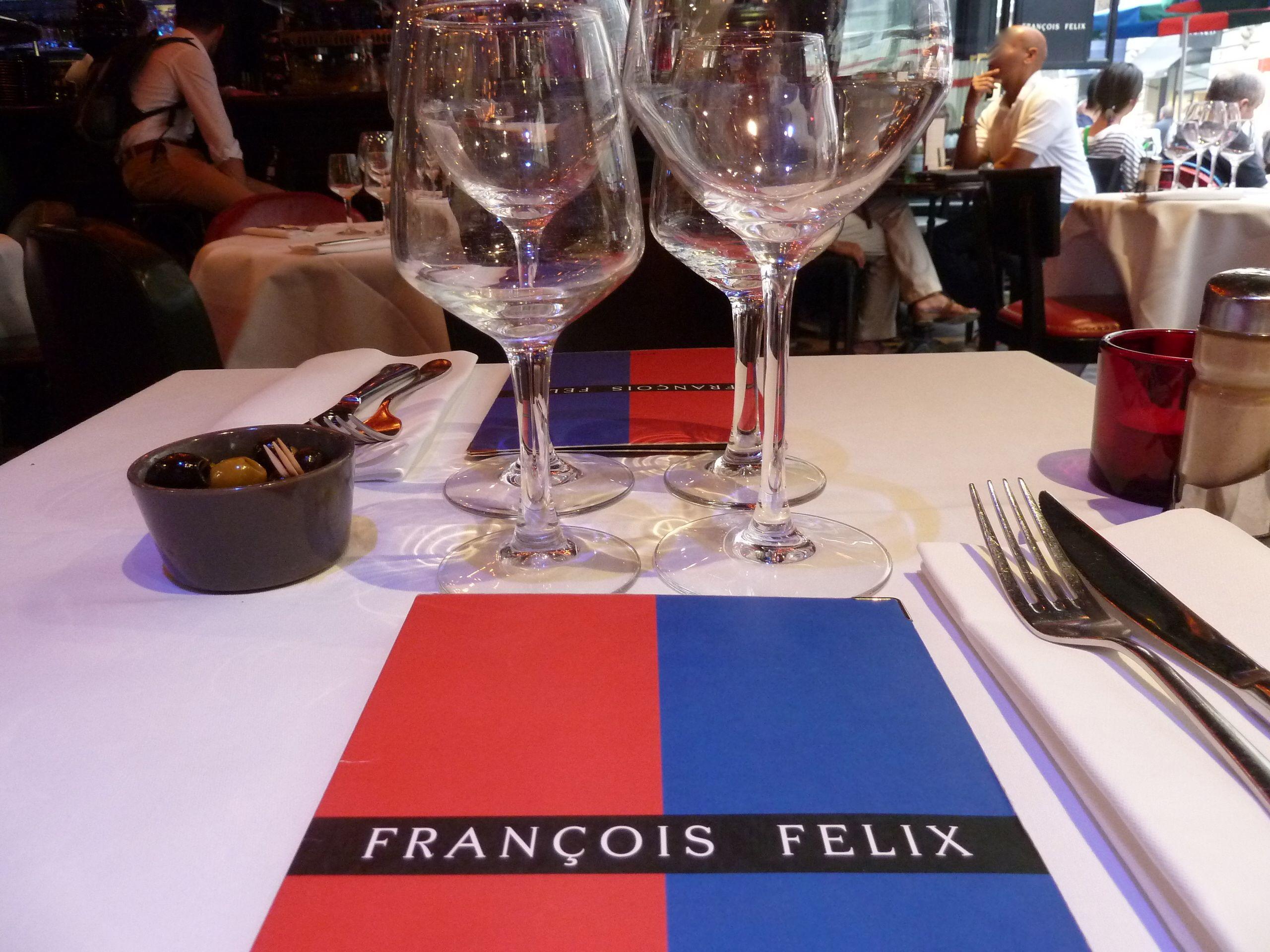 Bistrot Francois Felix A Hidden Gem On Rue Boissy D Anglas Cafe Bar Wine Glass Glassware