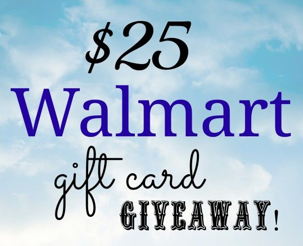 $25 Walmart Gift Card Giveaway - Simple Sojourns | Some of my ...