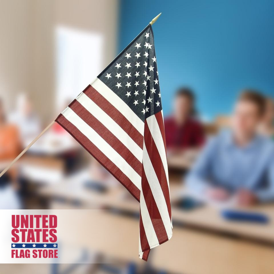 Classroom Us Flag 2ft X 3ft Polyester In 2020 Flag Store American Flag Flag Decor