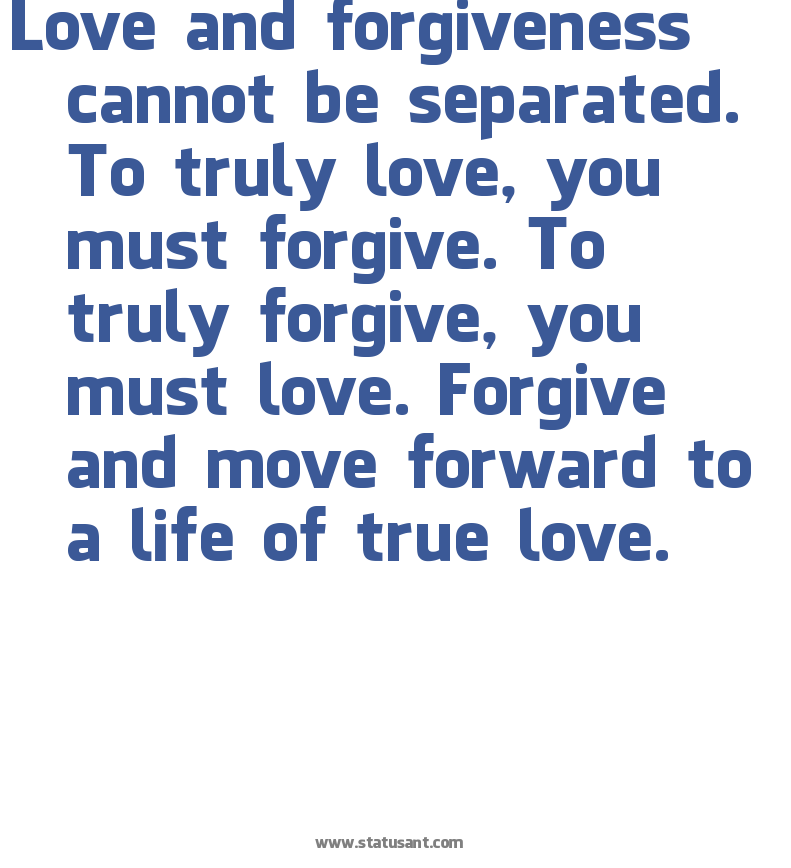 Forgiveness And Unconditional Love Quotes. QuotesGram