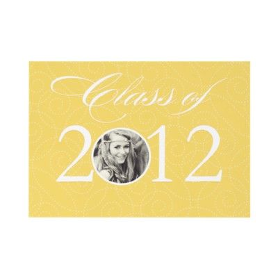 Create your own Graduation Party Invitation like this one. It's easy to add your Photo and info.