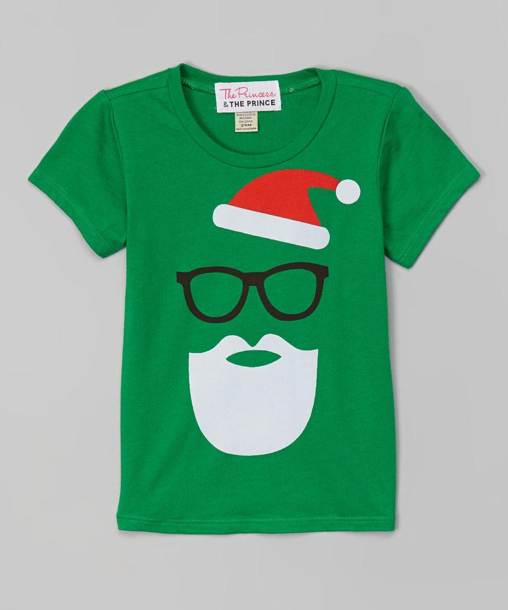 b623eb2ca701 Green Santa Tee - Infant & Toddler | Holidays | Green santa, Boys ...