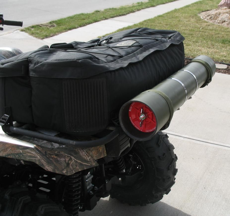 Build your own atv storage tube pics page 3 yamaha - Tuyau pvc 400 ...