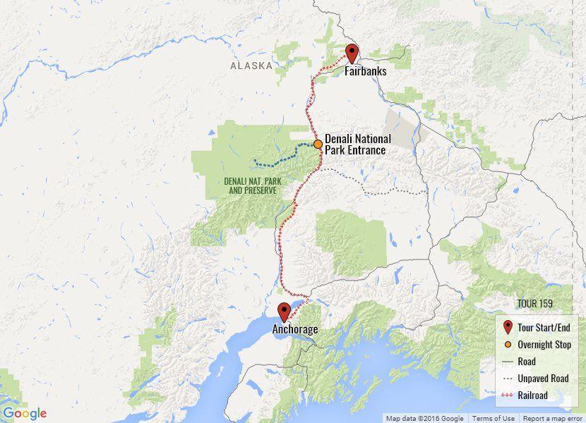 Greatland Explorer Tour Alaska railroad, Alaska winter