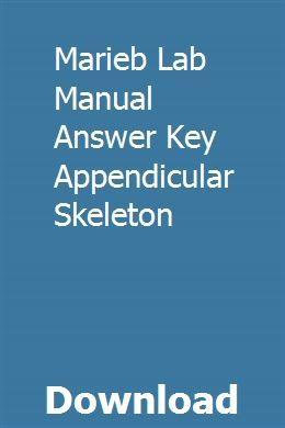 Marieb Lab Manual Answer Key Appendicular Skeleton pdf ...
