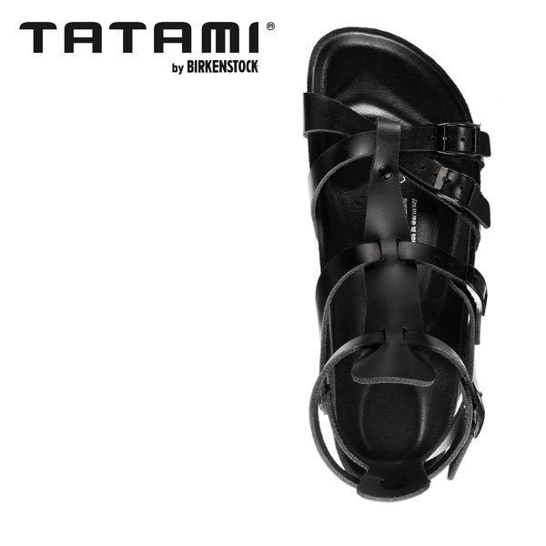 Tatami Amadora Leather Sandal Black Nappa (094955)