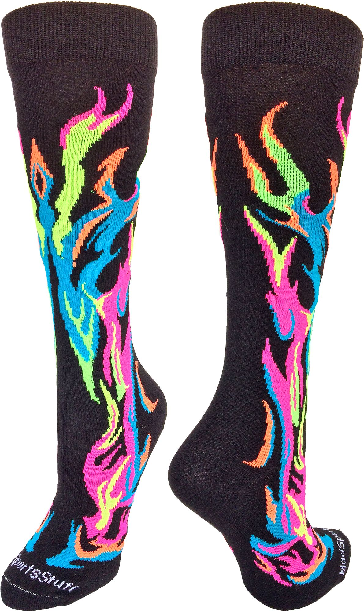 82c81e0babcd3 Athletic Flame Socks - Over the Calf (multiple colors) | Softball ...