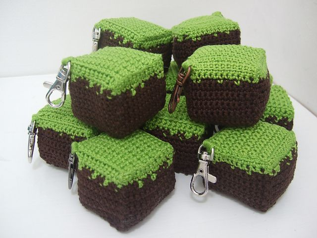 10 Awesome Minecraft Makes | crochet and macrame | Pinterest | Cubos ...