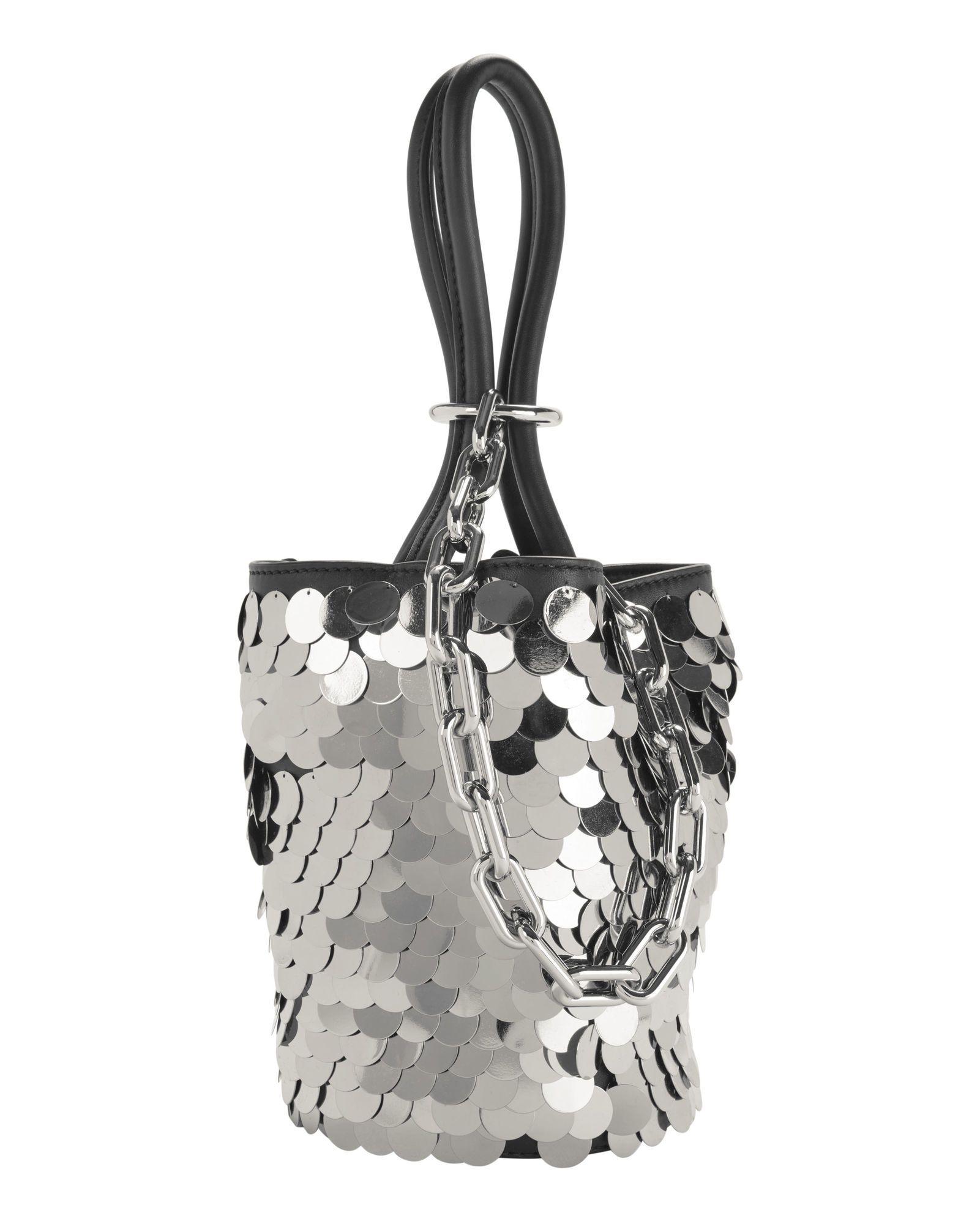 ALEXANDER WANG Roxy Sequin Mini Bucket Bag.  alexanderwang  bags  shoulder  bags  hand bags  leather  bucket   046e774d79639