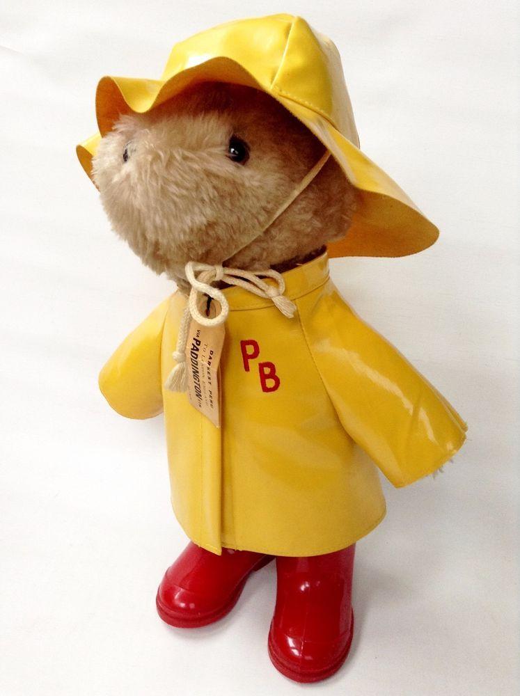 Paddington Bear Rain Coat
