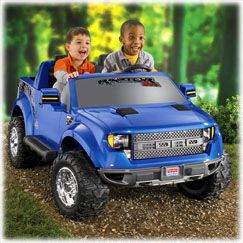 Ford Raptor Power Wheels Ford Raptor Kids Ride On