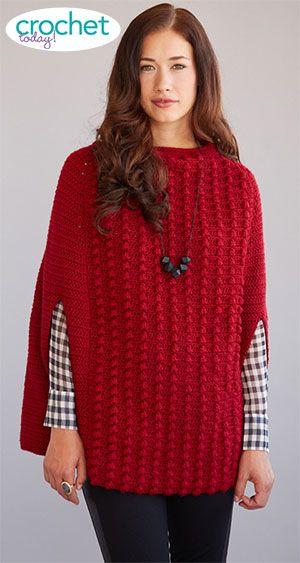 Cro-Shayley makes Crochet Today\'s Ali Cape   Handarbeiten, Stricken ...