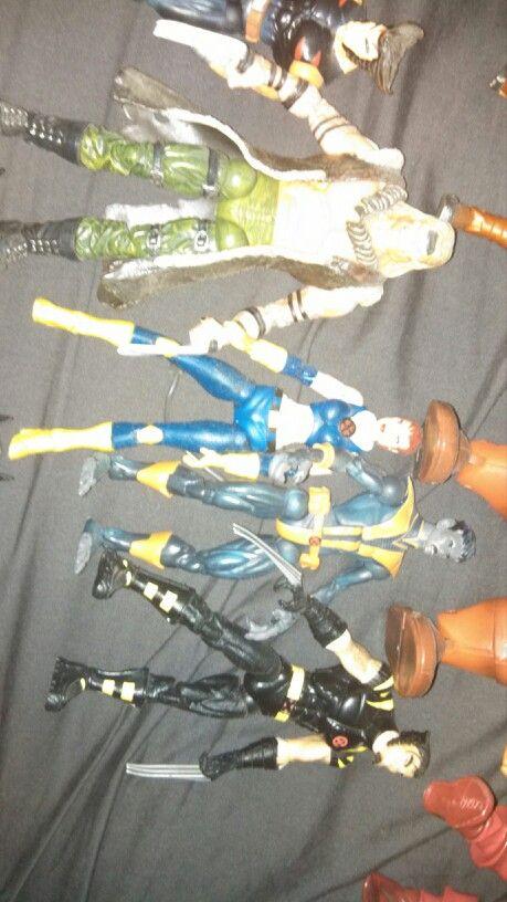 Ultimate Sabertooth, nightcrawler, wolverine and Gene