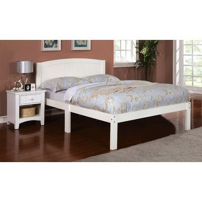 Hokku Designs Full/Double Platform Bed Finish: White | Products ...