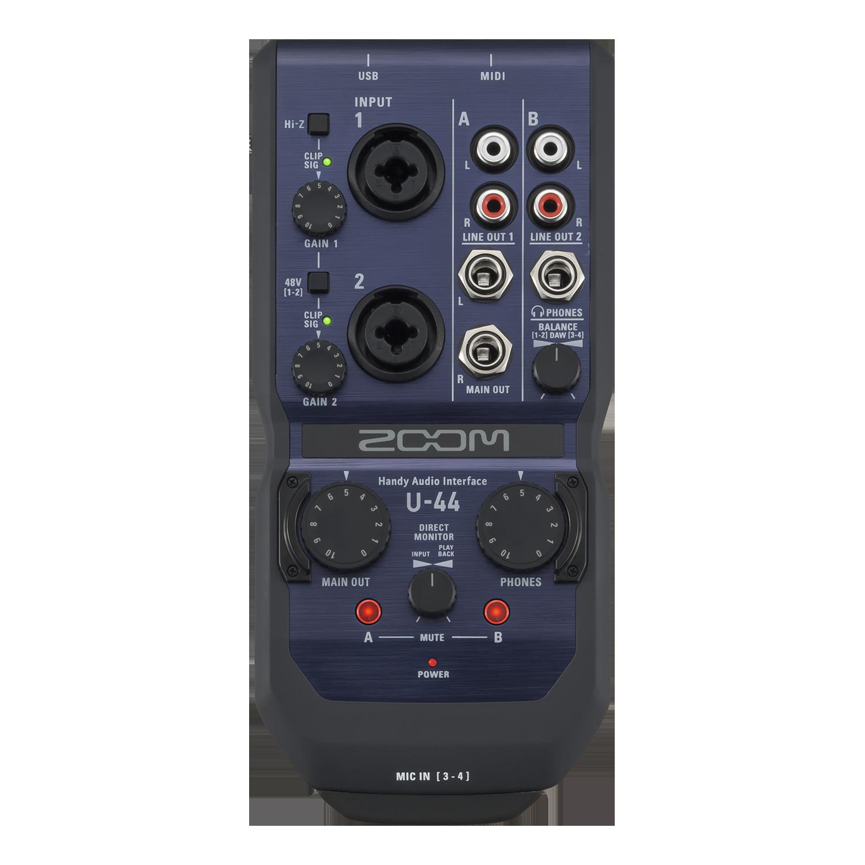 Zoom U 44 Handy Audio Interface