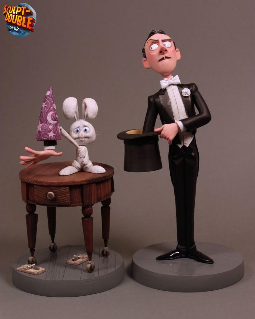 Flynn Maquettes SculpturePixar Y Joshua PrestoStylized Art rQtsdCh