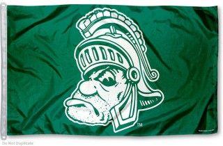 Michigan State University Gruff Flag Michigan State Spartans Michigan State University Michigan State