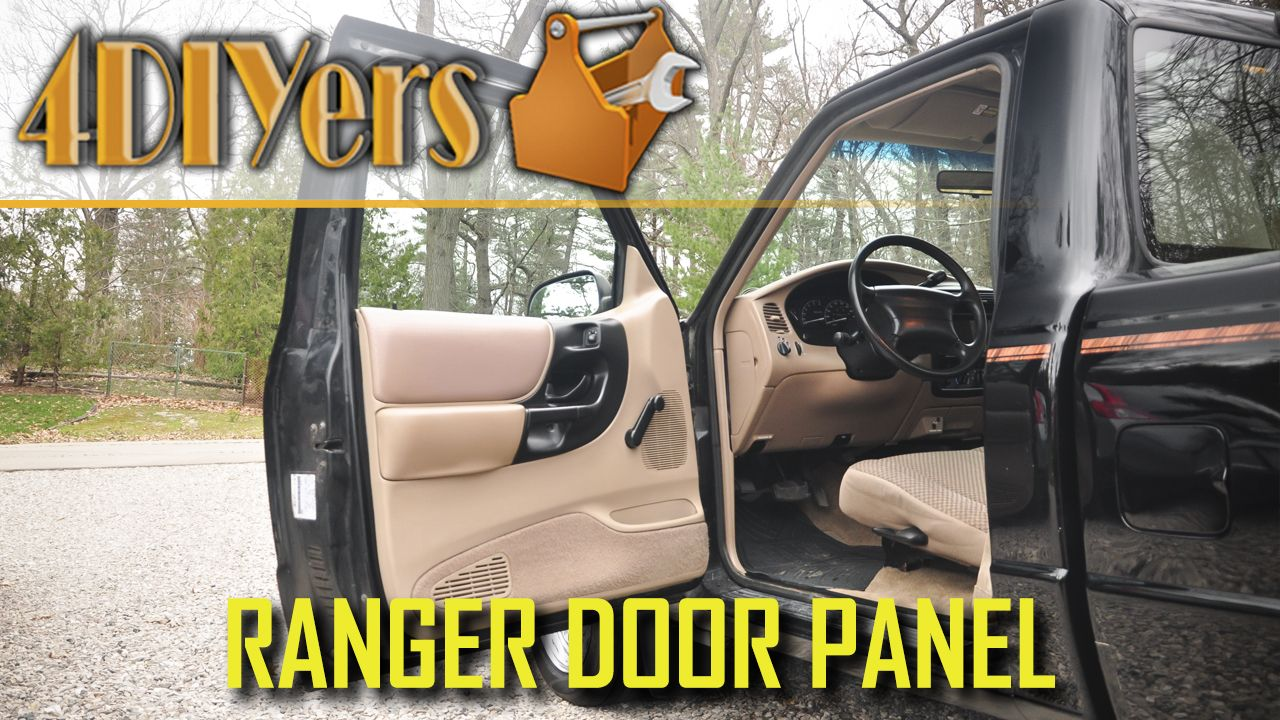 Video Tutorial On How To Remove The Door Panel On A Ford Ranger While This Is A 1998 Truck This Applies To The Years 1995 And Up As T Ford Ranger