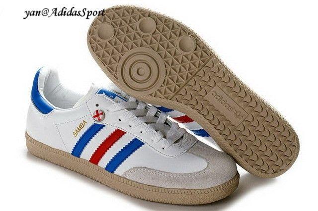 adidas samba blanco and azul