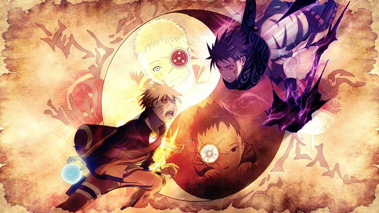 Fonds D Ecran Manga Naruto Naruto Vs Sasuke L Histoire Du