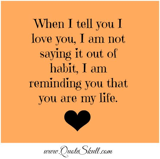 I Love You Quotes Girlfriend: I Love You Quotes For Him