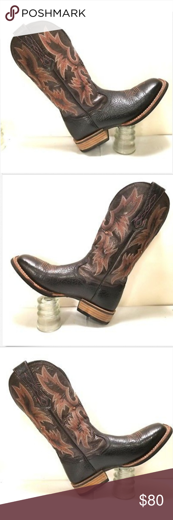 85243a7719b Ariat mens Western Boots Wide Square Toe sz 8D Ariat mens Western ...