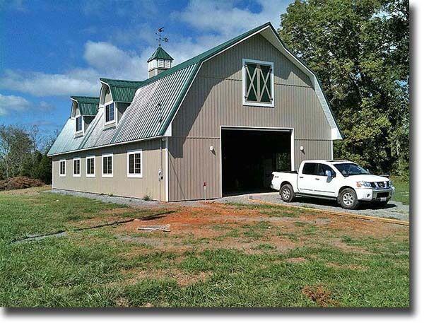 Gambrel Roof Gambrel Barn Barn Plans Big Red Barn