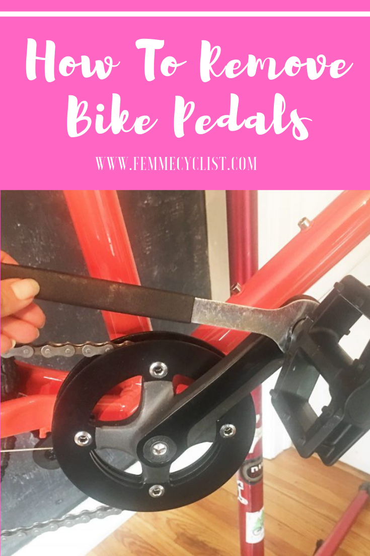 How To Remove Bike Pedals Bike Bike Pedals Commuter Bike