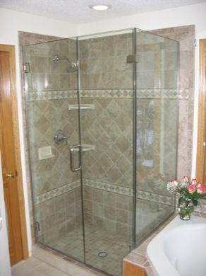 Custom Frameless Glass Shower Enclosures Mn Frameless Shower
