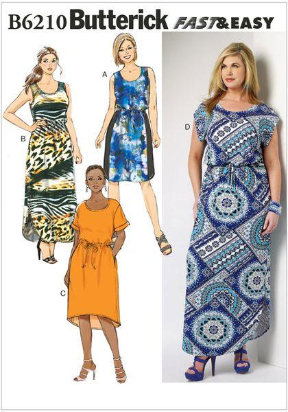 6210 Butt - Sewing- Patterns- NZ - dresses, childrens, babies ...