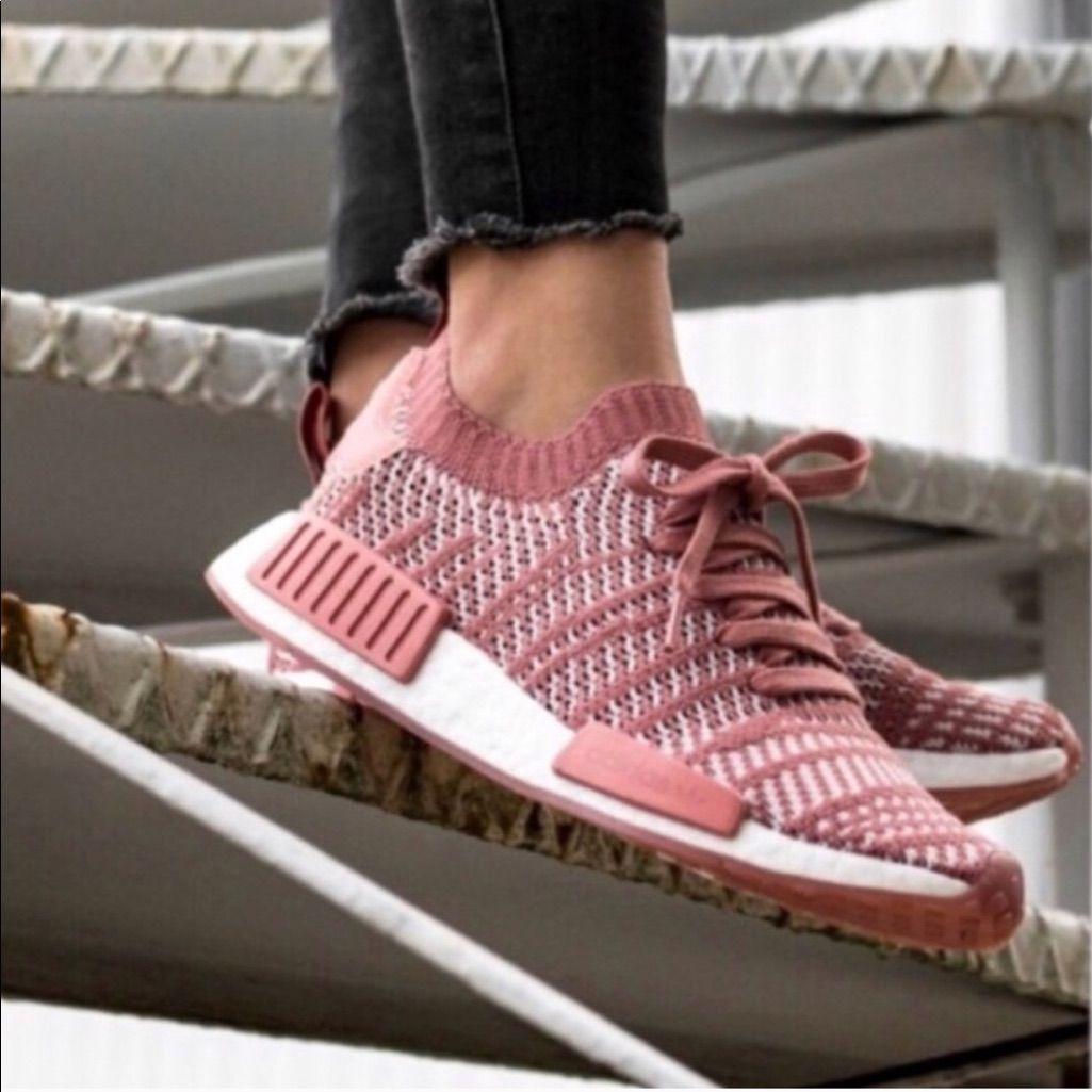 Schuhe Grau Weiß Herren Adidas NMD XR1 Primeknit SkoIn