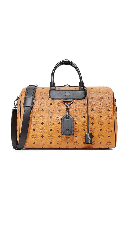 MCM Women's Nomad Medium Weekender Bag | Weekender bag, Mcm