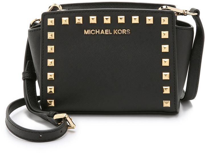shopbop.com - MICHAEL Michael Kors Selma Stud Mini Messenger Bag