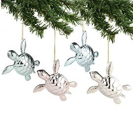 """Department 56: Products - """"Metallic Sea Turtle Ornament"""" - View Products"""