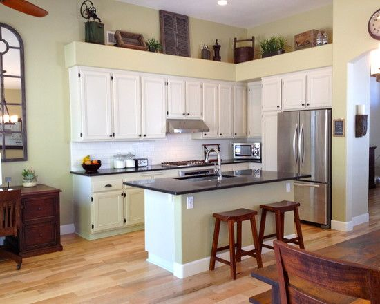 Spaces above cabinet design pictures remodel decor and ideas page also rh pinterest