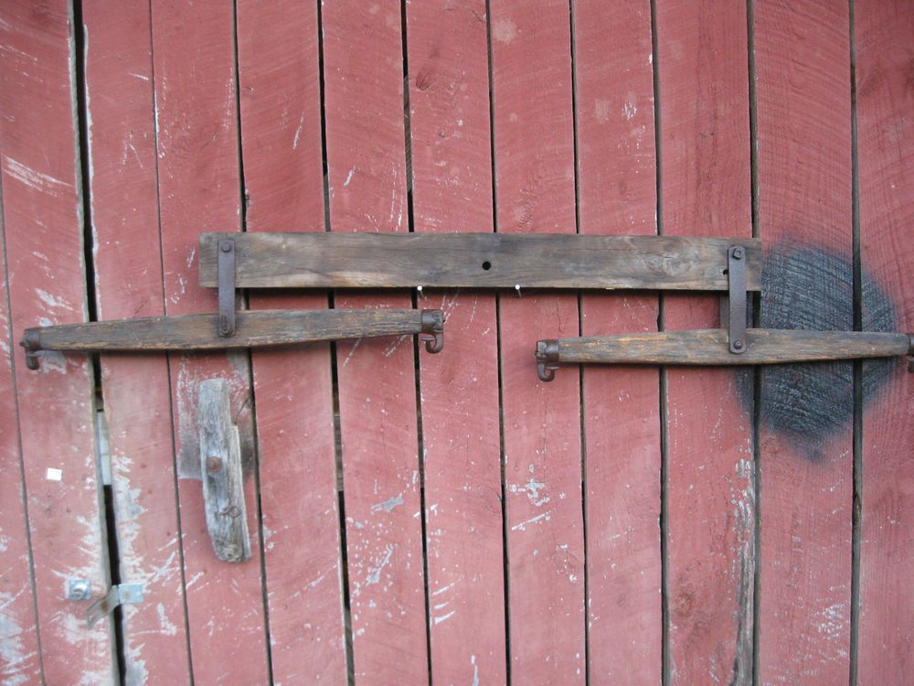 Antique Primitive Double Tree Yoke Hitch For Horse Wagon Re Purpose