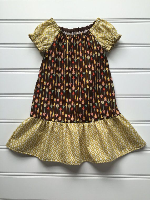 Girl Fall Dress, Toddler Fall Dress, Girl Fall Outfit, Girl Thanksgiving Dress, Thanksgiving Outfit, Autumn Dress, Peasant Dress 2T 3T 4T #thanksgivingoutfit
