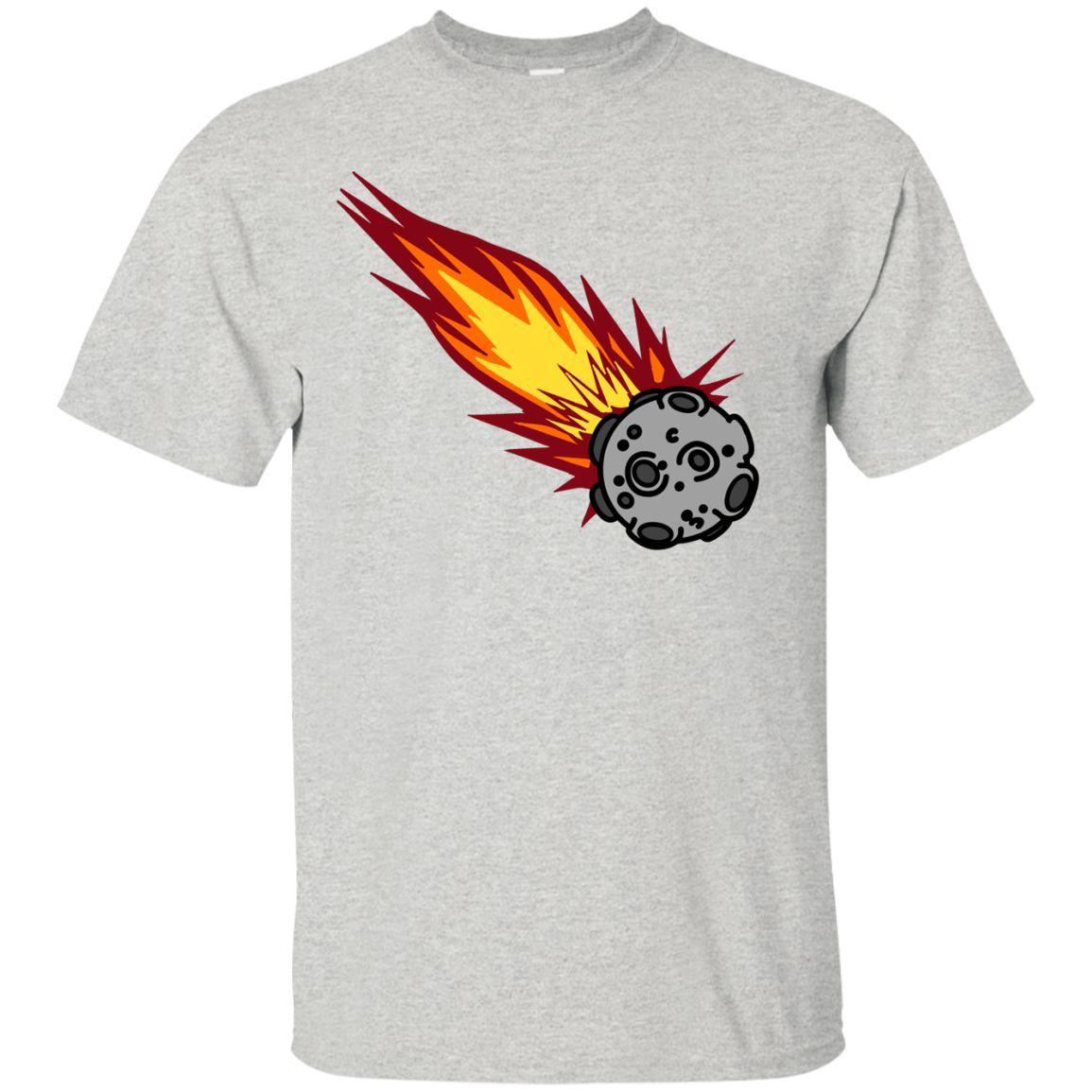 Flaming Meteor Or Comet