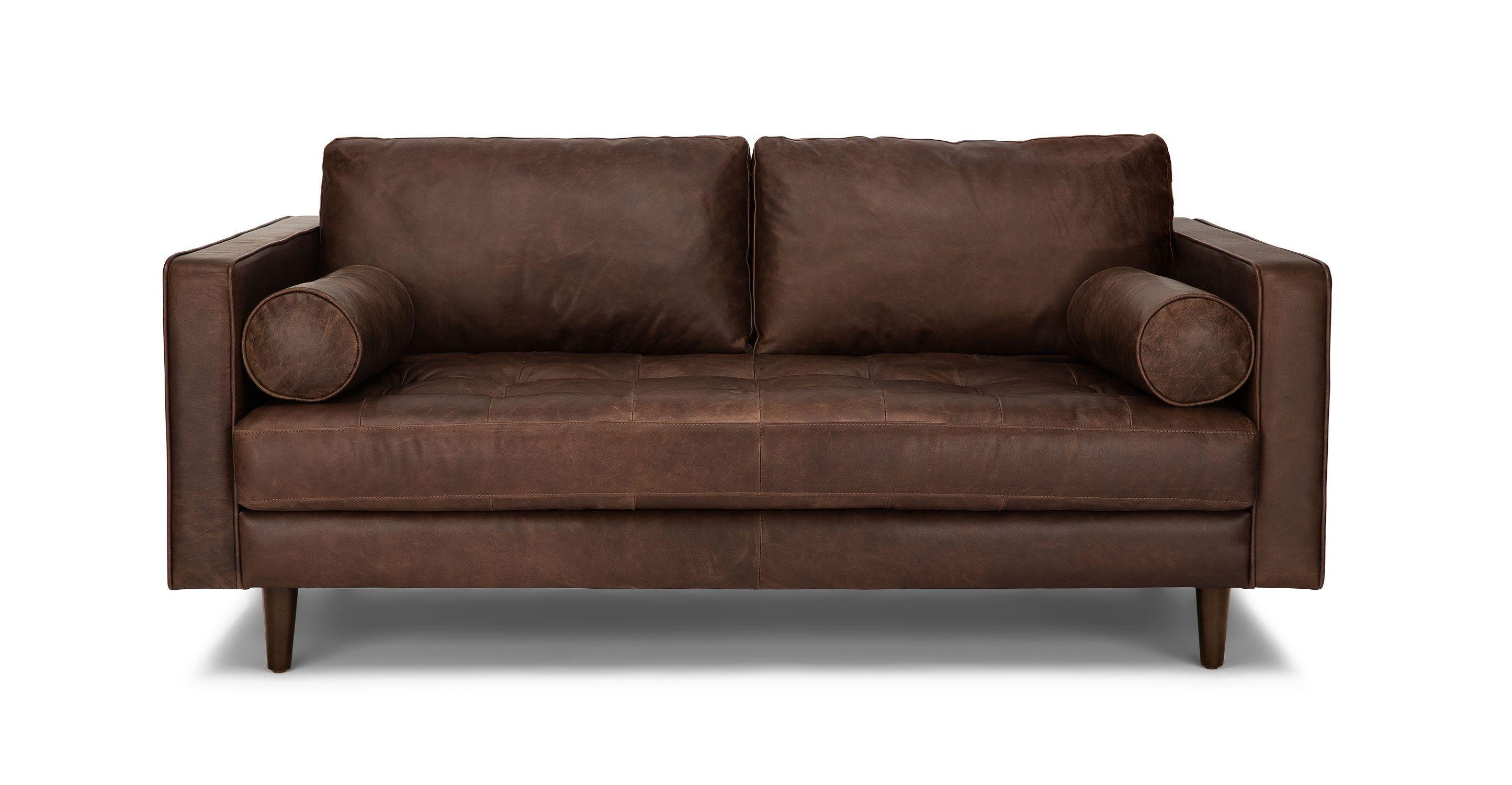Sven Charme Chocolat 72 Sofa Scandinavian Furniture Best Leather Sofa Leather Sofa