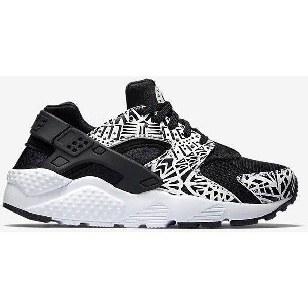 8f77c07ca73 Nike Huarache Run Print Kids  Shoe ( 81) ❤ liked on Polyvore featuring shoes